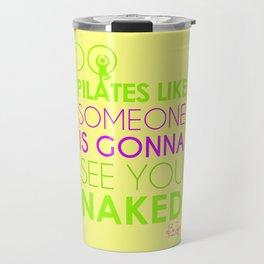 Do Pilates Naked Travel Mug