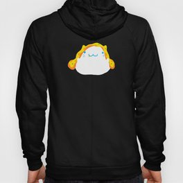 Peek-a-boo Pizza Cat Hoody