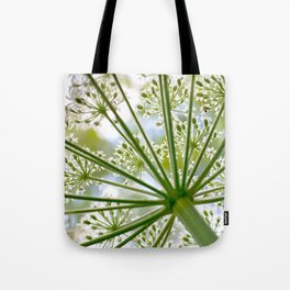 Delicate cow parsley Tote Bag