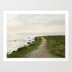 California Coast Trail Art Print