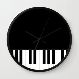 PIANO MUSIC! Wall Clock
