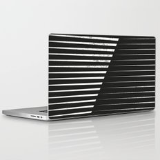 Black vs. White Laptop & iPad Skin
