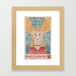 Jason & the Argonauts Framed Art Print