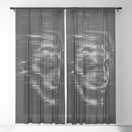 Is it just me, or is it getting crazier out there? - JOKER Sheer Curtain