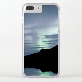 Aurora Borealis XXII Clear iPhone Case