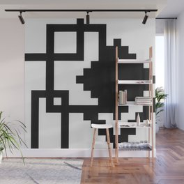 Boxes and Squares Wall Mural