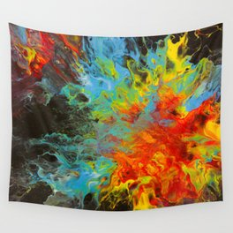 Number 010 - Fire and Ice Wall Tapestry