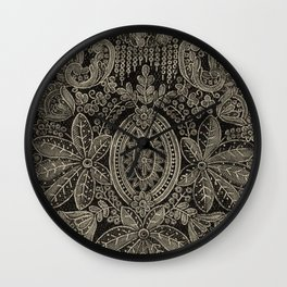 Vintage Lace Wall Clock