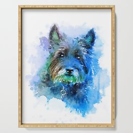 Cairn Terrier Serving Tray