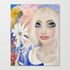 Alice in Wonderland, Alice Art Canvas Print