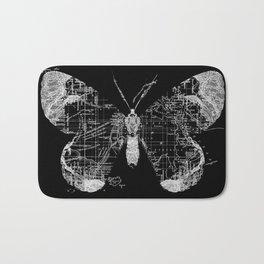 Butterfly Wanderlust Bath Mat