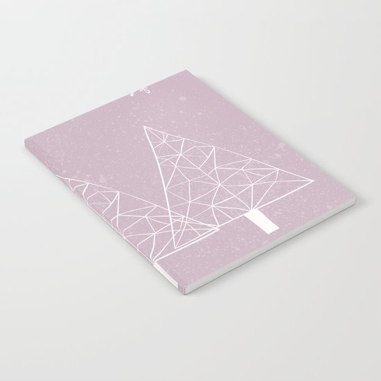 Merry Christmas Pink Notebook