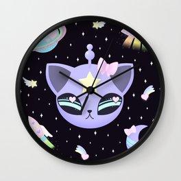 Space Cutie Wall Clock