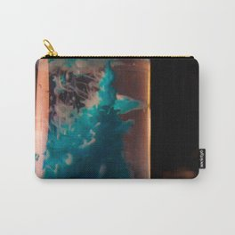 inked blue Carry-All Pouch