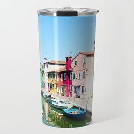 Burano Italy Venice Travel Mug
