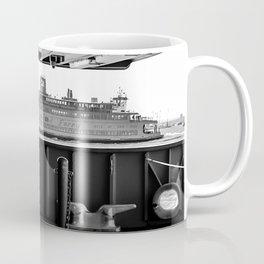 Boat through the Boat - Staten Island Ferry Coffee Mug