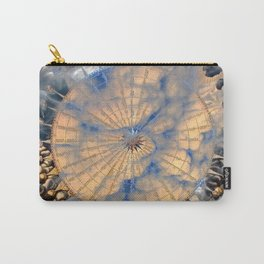 Compass Rose Obscured By Clouds Carry-All Pouch