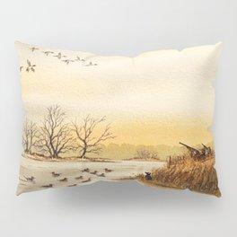 Hunting Pintail Ducks Pillow Sham