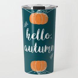 Hello, Autumn Travel Mug