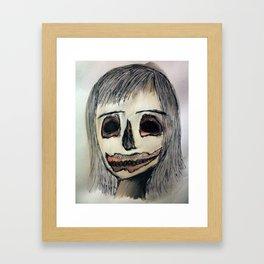 Carving.  Framed Art Print