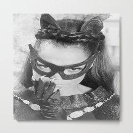 EARTHA KITT as Catwoman from the Batm-an  Adam West Tv Show  Metal Print