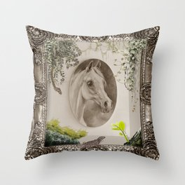 ANIMAL MUSEUM  Throw Pillow