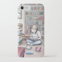 reading iPhone & iPod Cases featuring Reading by ejbeachy