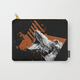 Angry Snapping Turtle Carry-All Pouch