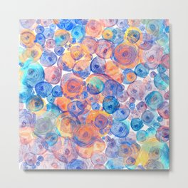 Floral abstract(44) Metal Print