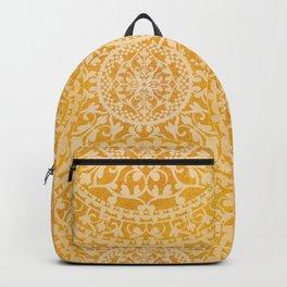 Golden Mandalas Backpack