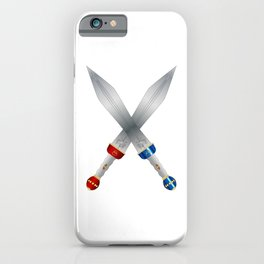 Two Roman Swords iPhone Case