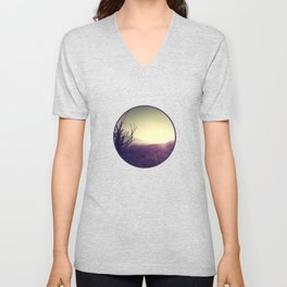 Landscape Sunset Unisex V-Neck