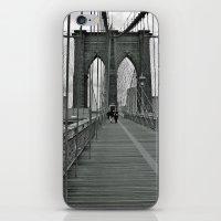 brooklyn bridge iPhone & iPod Skins featuring Brooklyn Bridge by Astrid Ewing