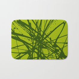 Bloom Green Bath Mat