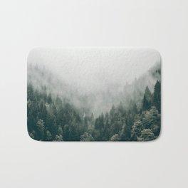 Foggy Forest 3 Bath Mat