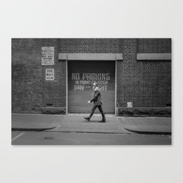 One Way - Street Photography in Melbourne Canvas Print