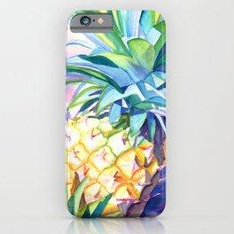Kauai Pineapple 3 iPhone Case