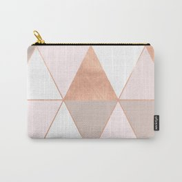 GEO TIKKI - ROSEGOLD PASTEL Carry-All Pouch