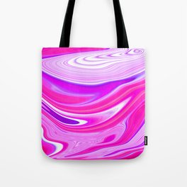 Colorful twisted pattern Tote Bag