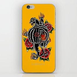 Black Panther iPhone Skin
