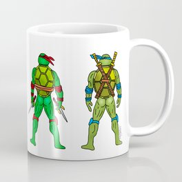 Superhero Butts - Turtles Coffee Mug
