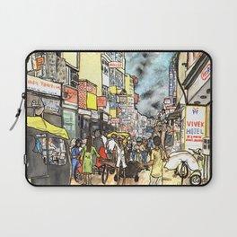 Freaky New Delhi Laptop Sleeve