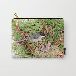 Sardinian Warbler - nesting bird on the Ligurian coast Carry-All Pouch