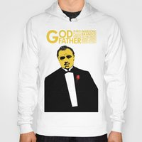 godfather Hoodies featuring GODFATHER by miszkurka