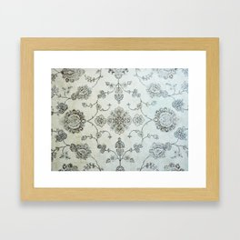 Vintage Carpet 2 Framed Art Print