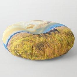 The Great American Bison Floor Pillow