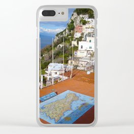 Isle of Capri! Clear iPhone Case