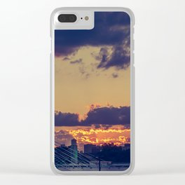 Alico Sunset Clear iPhone Case