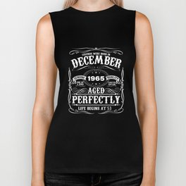 December 1965 53rd Birthday T-Shirt Funny 53 Year Gift Biker Tank
