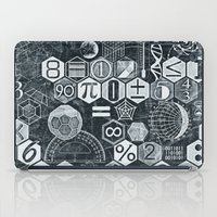 math iPad Cases featuring Math Class by Chicca Besso